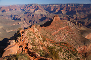 View from Ooh-ahh Point, South Kaibab Trail, Grand Canyon National Park, Arizona.