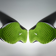 Nike training shoes with shadow wings.