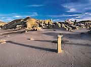 Bisti / De-Na-Zin Wilderness (Bisti Badlands) in Northwest New Mexico
