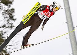 08.02.2020, Energie AG Skisprung Arena, Hinzenbach, AUT, FIS Weltcup Ski Sprung, Damen, Wertungsdurchgang, im Bild Agnes Reisch (GER) // during her competition jump for the women's FIS Ski Jumping World Cup at the Energie AG Skisprung Arena in Hinzenbach, Austria on 2020/02/08. EXPA Pictures © 2020, PhotoCredit: EXPA/ Reinhard Eisenbauer