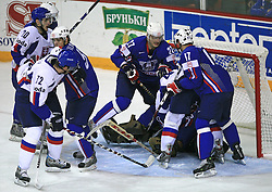 Ice-hockey game Slovenia vs Slovakia at Relegation  Round (group G) of IIHF WC 2008 in Halifax, on May 09, 2008 in Metro Center, Halifax, Nova Scotia, Canada. Slovakia won 5:1. (Photo by Vid Ponikvar / Sportal Images)