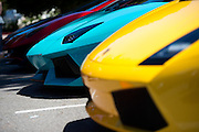 August 14-16, 2012 - Lamborghinis at Pebble Beach: Lamborghinis