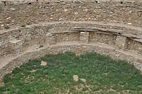Kiva at Aztec Ruins National Monument, New Mexico