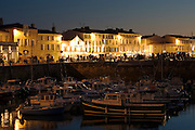 Port of Saint-Martin de Re in Ile de Re, France. RESERVED USE - NOT FOR DOWNLOAD -  FOR USE CONTACT TIM GRAHAM