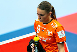 Larissa Nusser of Netherlands disappointed during the Women's EHF Euro 2020 match between Netherlands and Serbia at Sydbank Arena on december 05, 2020 in Kolding, Denmark (Photo by RHF Agency/Ronald Hoogendoorn)