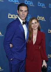 71st Annual Directors Guild Of America Awards - Arrivals. 02 Feb 2019 Pictured: Sacha Baron Cohen, Isla Fisher. Photo credit: Jaxon / MEGA TheMegaAgency.com +1 888 505 6342