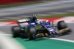 May 13, 2017 - Barcelona, Spain - Motorsports: FIA Formula One World Championship 2017, Grand Prix of Spain, .#94 Pascal Wehrlein (GER, Sauber F1 Team) (Credit Image: © Hoch Zwei via ZUMA Wire)