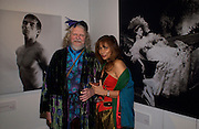 Lord Weymouth and Trudie Juggernaut-Sharma, Beaton at Large, an exhibition of modern prints from Cecil Beaton's studio archive, Sotheby's. 9 February 2004. © Copyright Photograph by Dafydd Jones 66 Stockwell Park Rd. London SW9 0DA Tel 020 7733 0108 www.dafjones.com