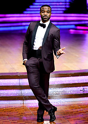 Host Ore Oduba poses for photographers during a photocall before the opening night of the Strictly Come Dancing Tour 2019 at the Arena Birmingham, in Birmingham. Picture date: Thursday January 17, 2019. Photo credit should read: Aaron Chown/PA Wire