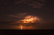 We were treated to the most incredible thunderstorms. The lightning lighting up Zambia's dark skies.