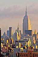 Rooftops Midtown, Empire State building,  Manhattan, New York City, New York, USA