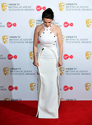 Hayley Atwell in the press room at the Virgin TV British Academy Television Awards 2018 held at the Royal Festival Hall, Southbank Centre, London.