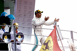September 2, 2018 - Monza, Italy - Motorsports: FIA Formula One World Championship 2018, Grand Prix of Italy, .#44 Lewis Hamilton (GBR, Mercedes AMG Petronas Motorsport) (Credit Image: © Hoch Zwei via ZUMA Wire)