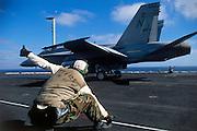 F/A-18C cat shot