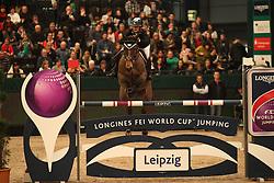 Goldstein Danielle, (ISR), Carisma<br /> Longines FEI World Cup<br /> CSIO Leipzig 2016<br /> © Hippo Foto - Stefan Lafrentz