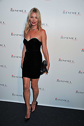 KATE MOSS at a party hosted by Rimmel London to celebrate the 10 year partnership with Kate Moss held at Battersea Power Station, London SW8 on 15th September 2011.