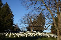 11.01.2016, Museum, Gettysburg, USA, Battle of Gettysburg, im Bild Der Soldiers National Cemetary ist die letzte Ruhestaette fuer zahlreiche Gefallene der Schlacht, Schlachtfeld von Gettysburg // View the historic site of the Battle of Gettysburg at Museum in Gettysburg, United States on 2016/01/11. EXPA Pictures © 2016, PhotoCredit: EXPA/ Eibner-Pressefoto/ Hundt<br /> <br /> *****ATTENTION - OUT of GER*****