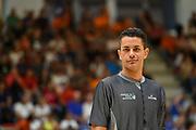 Denny Borgioni<br /> Banco di Sardegna Dinamo Sassari - Sam Basket Massagno<br /> Torneo Città di Oristano Trofeo Città di Eleonora<br /> Oristano, 07/09/2019<br /> Foto L.Canu / Ciamillo-Castoria