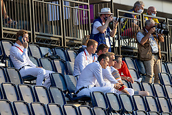 Team Belgium, Devos Pieter, Bruynseels Niels, Wathelet Gregory, Guery Jerome<br /> Olympic Games Tokyo 2021<br /> © Hippo Foto - Dirk Caremans<br /> 31/07/2021