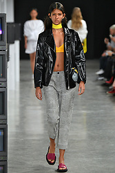 Model walks on the runway during the Aalto Fashion Show during Paris Fashion Week Spring Summer 2018 held at the Palais de Tokyo in Paris, France on September 27, 2017. (Photo by Jonas Gustavsson/Sipa USA)