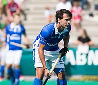 ROTTERDAM -  Pepijn Luijkx (Kampong) tijdens de wedstrijd om de derde plaats tegen Oranje Rood bij de ABN AMRO cup. COPYRIGHT KOEN SUYK