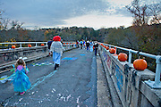 Bynum Bridge.  The old Bynum bridge during the annual Bynum Pumpkins on the Bridge celebration.