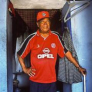 Caretaker of the monuments in Havana, Cuba