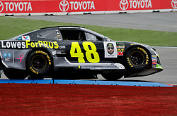 September 30, 2018 - Charlotte, NC, U.S. - CHARLOTTE, NC - SEPTEMBER 30:#48: Jimmie Johnson, Hendrick Motorsports, Chevrolet Camaro Lowe's for Pros during the running of the Inagural Bank of America ROVAL 400 on Sunday September 30, 2018 at Charlotte Motor Speedway in Concord North Carolina  (Photo by Jeff Robinson/Icon Sportswire) (Credit Image: © Jeff Robinson/Icon SMI via ZUMA Press)