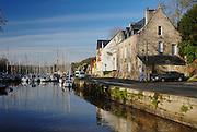 Marina of La Roche-Bernard city, Ille Et Vilaine, Brittany, Bretagne, France