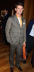 COUNT MANFREDIE DELLA GHERARDESCA at a drinks reception to view Christie's forthcoming sales of Contemporary Art and 20th Centuary Italian Art, held at Christie's. St.James's, London on 21st October 2005.<br />