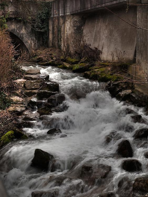 Rheinfelden, creek.