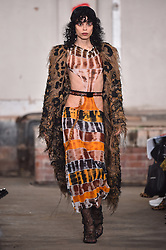 Models wear designes by Asai during the Fashion East Spring/Summer 2019 London Fashion Week show in Covent Garden, London. Picture date: Sunday September 16th, 2018. Photo credit should read: Matt Crossick/ EMPICS Entertainment.
