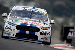 October 7, 2018 - Bathurst, NSW, U.S. - BATHURST, NSW - OCTOBER 07: Mark Winterbottom / Dean Canto in the The Bottle-O Racing Team Ford Falcon across the top of the mountain at the Supercheap Auto Bathurst 1000 V8 Supercar Race at Mount Panorama Circuit in Bathurst, Australia on October 07, 2018 (Photo by Speed Media/Icon Sportswire) (Credit Image: © Speed Media/Icon SMI via ZUMA Press)