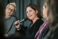 "14 JAN 2019, BERLIN/GERMANY:<br /> Annalena Baerbock, MdB, B90/Gruene Budnesvorsitzende, Veranstaltung der Konrad-Adenauer-Stiftung, KAS, ""Frauenpolitik - Auftrag fuer morgen!"", Sheraton Hotel <br /> IMAGE: 20190114-01-110"