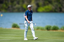 March 21, 2018 - Austin, TX, U.S. - AUSTIN, TX - MARCH 21: Cameron Smith walks up the fairway during the First Round of the WGC-Dell Technologies Match Play on March 21, 2018 at Austin Country Club in Austin, TX. (Photo by Daniel Dunn/Icon Sportswire) (Credit Image: © Daniel Dunn/Icon SMI via ZUMA Press)