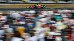 Red Bull's Max Verstappen during the 2018 British Grand Prix at Silverstone Circuit, Towcester.