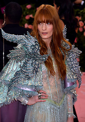Florence Welch attending the Metropolitan Museum of Art Costume Institute Benefit Gala 2019 in New York, USA.