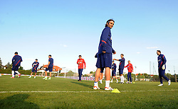 18.05.2012, Brezice, SLO, UEFA EURO 2012, Trainingscamp, Kroatien, 2. Trainingstag, im Bild Niko Kranjcar // during 2nd practice day of Croatian National Footballteam for preparation UEFA EURO 2012 at Brezice, Slovenia on 2012/05/18. EXPA Pictures © 2012, PhotoCredit: EXPA/ Pixsell/ Daniel Kasap....***** ATTENTION - OUT OF CRO, SRB, MAZ, BIH and POL *****