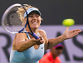 Tennis: BNP Paribas Open 2014 Maria Sharapova vs Julia Goerges