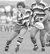 Bath, West Somerset. Great Britain.  <br /> Stuart BARNES.<br /> Bath Rugby vs Harlequins, The Recreation Ground [Rec]. 10.09.1988.<br /> <br /> [Mandatory Credit, Peter Spurrier/ Intersport Images].