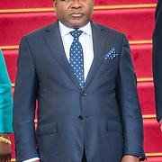 NLD/Den Haag/20170519 - Koning Willem Alexander en Koningin Maxima Ontvangen Presidentspaar Mozambique, president Filipe Nyusi