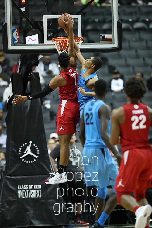 BROOKLYN, NEW YORK FRIDAY, APRIL 14:  Jordan Brand Classic at the Barclays Center. NOTE TO USER: Mandatory Copyright Notice: Photo by Jon Lopez