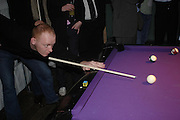 """Rufus Abbott. Official Pre-Brit Awards 2005 Pool Tournament"""" at The Sanderson Hotel February 8, 2005 in London. The party is hosted by Esquire Magazine ONE TIME USE ONLY - DO NOT ARCHIVE  © Copyright Photograph by Dafydd Jones 66 Stockwell Park Rd. London SW9 0DA Tel 020 7733 0108 www.dafjones.com"""