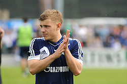 24.04.2014, Veltins Arena, Gelsenkirchen, GER, 1. FBL, Training Schalke 04, im Bild Max Meyer ( Schalke 04 ) // during a Trainingsession of German Bundesliga Club Schalke 04 at the Veltins Arena in Gelsenkirchen, Germany on 2014/04/24. EXPA Pictures © 2014, PhotoCredit: EXPA/ Eibner-Pressefoto/ Thienel<br /> <br /> *****ATTENTION - OUT of GER*****