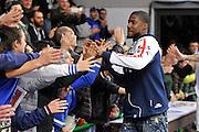 DESCRIZIONE : Eurocup Last 32 Group N Dinamo Banco di Sardegna Sassari - Galatasaray Odeabank Istanbul<br /> GIOCATORE : Tony Mitchell<br /> CATEGORIA : Postgame Ritratto Esultanza Ultras Tifosi Spettatori Pubblico<br /> SQUADRA : Dinamo Banco di Sardegna Sassari<br /> EVENTO : Eurocup 2015-2016 Last 32<br /> GARA : Dinamo Banco di Sardegna Sassari - Galatasaray Odeabank Istanbul<br /> DATA : 13/01/2016<br /> SPORT : Pallacanestro <br /> AUTORE : Agenzia Ciamillo-Castoria/C.Atzori