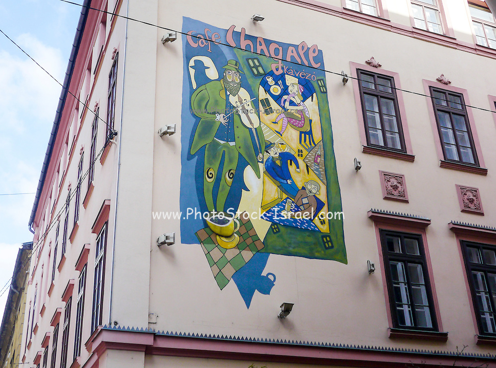 Cafe Chagall, Budapest, Hungary