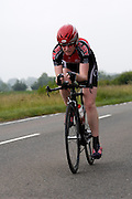 UK, Chelmsford, 28 June 2009: EMILIE FISHER (LS) XRT/ELMY CYCLES LS completed the E9 / 25 course in 1 hour 2 mins 32 secs. Images from the Chelmer Cycle Club's Open Time Trial Event on the E9 / 25 course. Photo by Peter Horrell / http://peterhorrell.com .