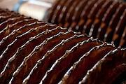 Patos de Minas_MG, Brasil..Cacharia em Patos de Minas que fabrica aguardente para exportacao. Na foto detalhe de um moinho...Cachacaria in Patos de Minas, which manufactures cachaca for export. In the detail photo of a mill...Foto: LEO DRUMOND / NITRO