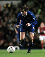 Fotball<br /> Carling cup 2004/05<br /> Arsenal v Everton<br /> 9. november 2004<br /> Foto: Digitalsport<br /> NORWAY ONLY<br /> Kevin Kilbane, Everton