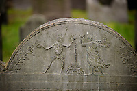 King's Chapel Burial Ground - Tremont Street.  Boston Walking Tour.  ©2016 Karen Bobotas Photographer